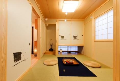 飾り床付小和室